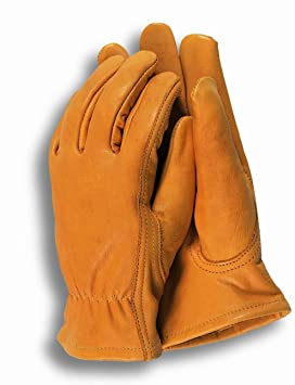 c8898d9dd Image Unavailable. Image not available for. Colour: Town & Country TGL408L  Deluxe Premium Leather Mens Gloves ...