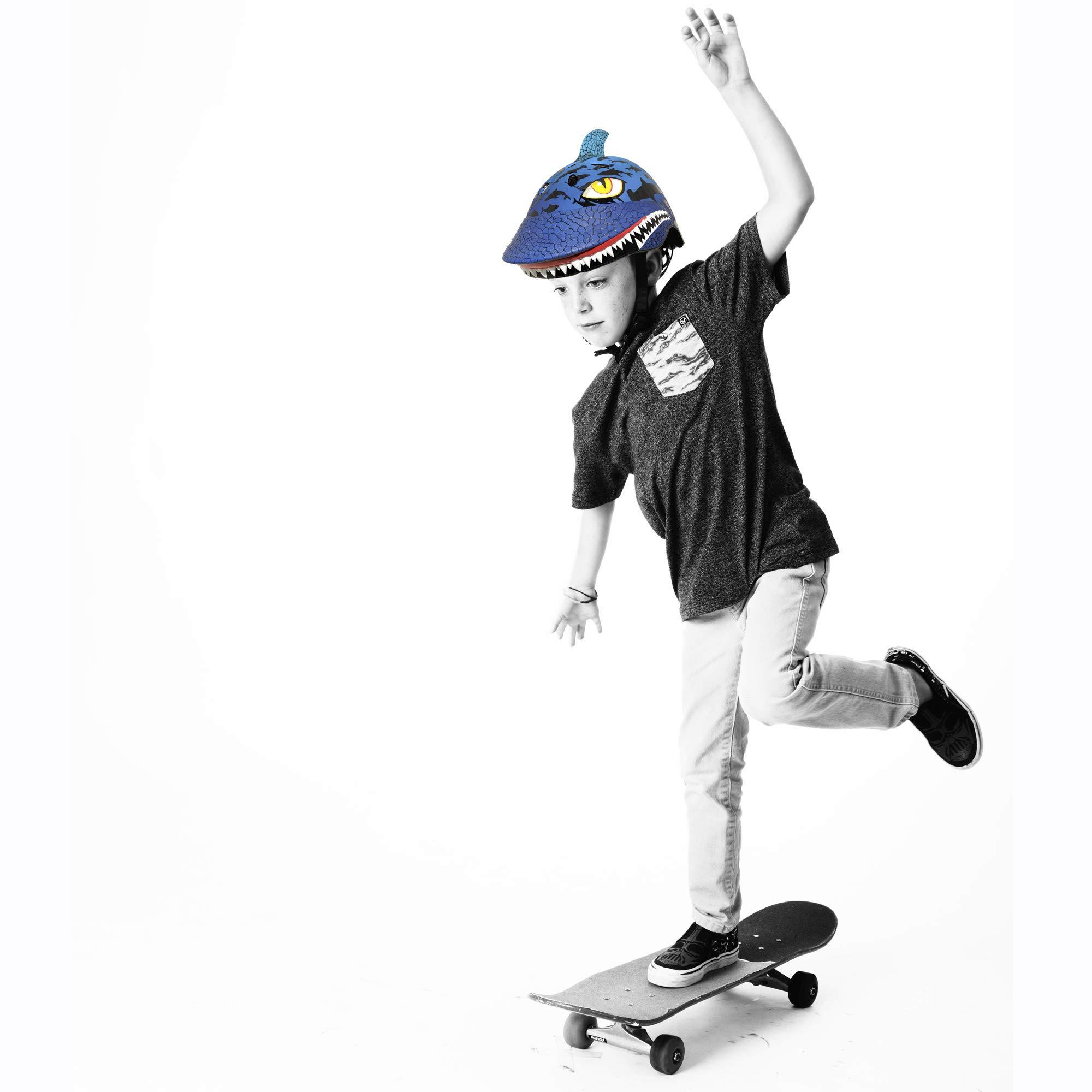 Raskullz Shark Jaws Helmet, Blue