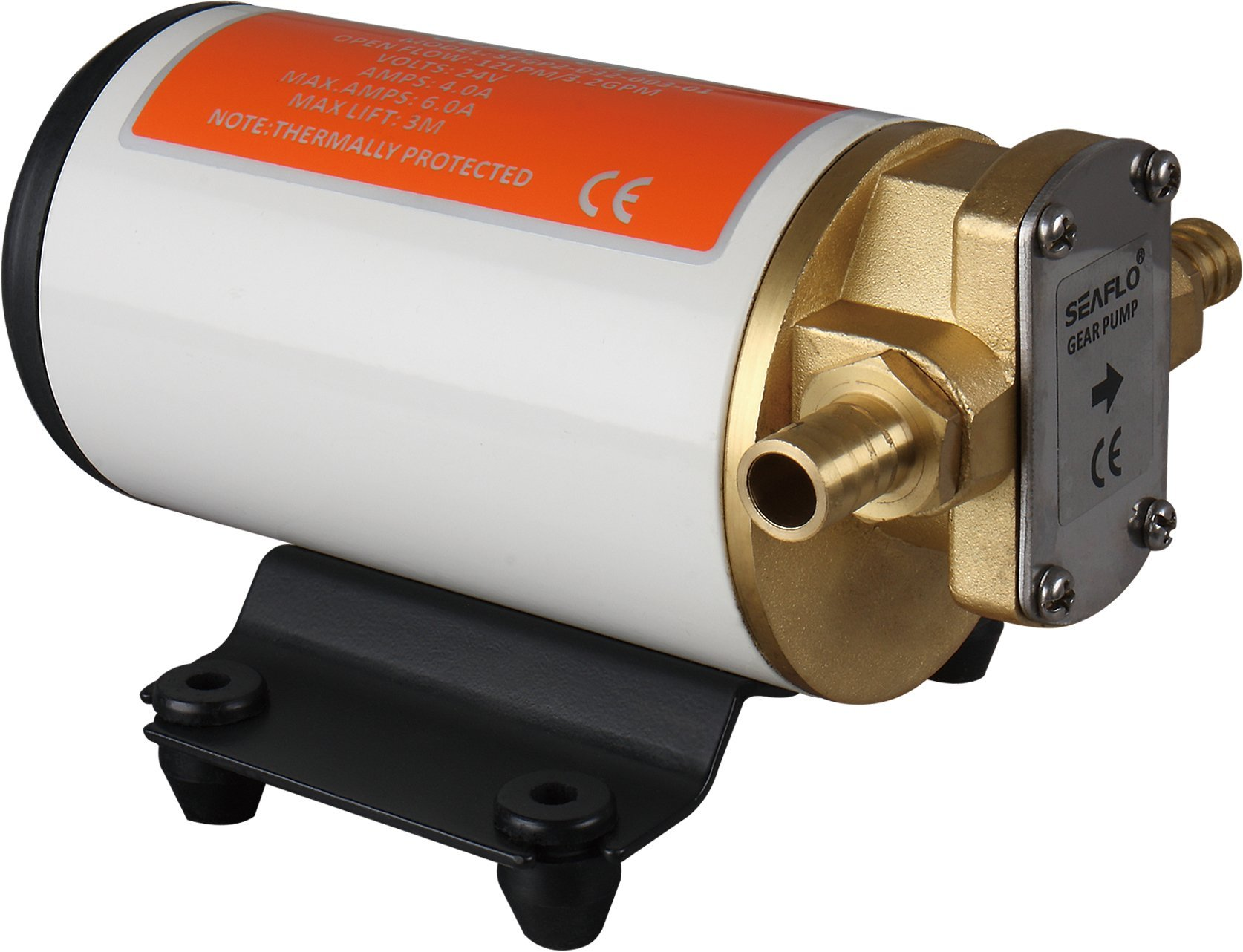 SEAFLO 12V 3.2GPM 12LPM Low Pressure Electric Gear Pumps for Water Diesel Oil Lubricant Transfer by Seaflo (Image #1)