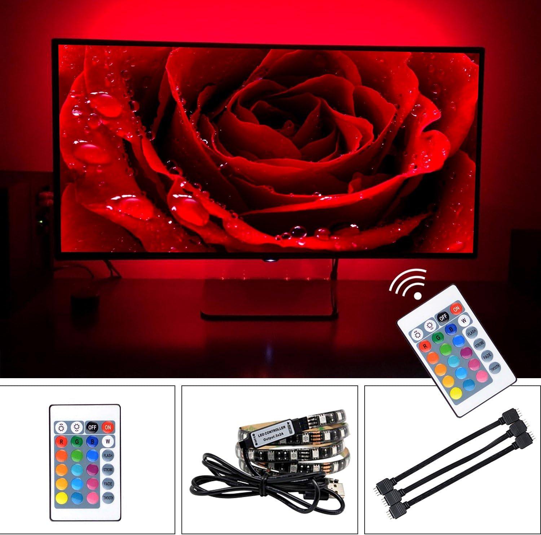 Tira led RGB - Tira LED USB Retroiluminación LED de TV - Tiras LED ...