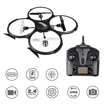 Udi U818a Hd Rc Quadcopter Drone Ufo Avec Camra 720p Mode Sans Tte
