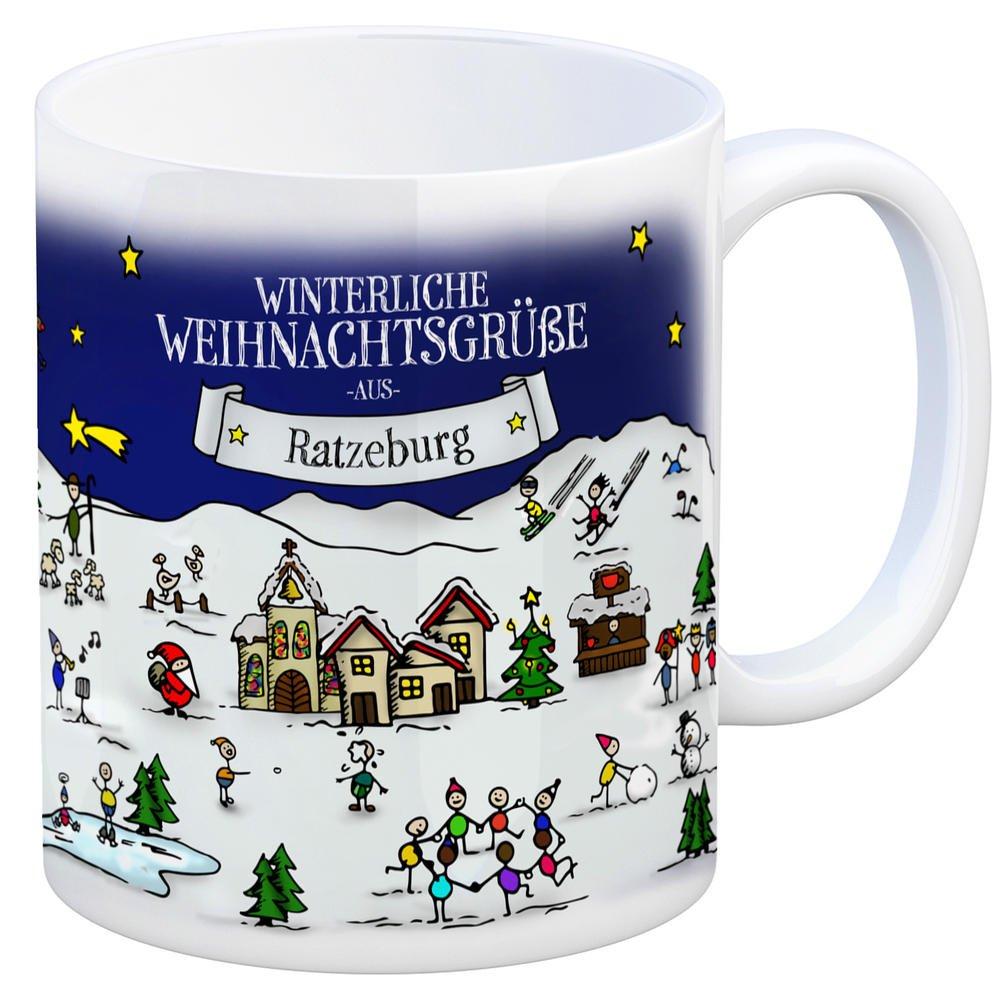 Weihnachtsmarkt Ratzeburg.Trendaffe Ratzeburg Weihnachten Kaffeebecher Mit Winterlichen