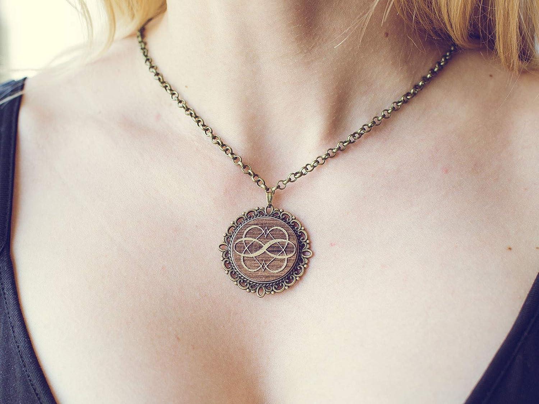 Amazon com: Polyamory symbol pendant necklace personalized
