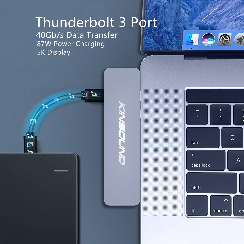 Kinsound 7 in 2 USB C HUB