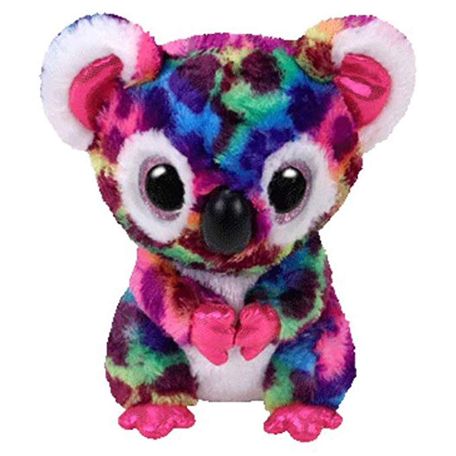 ... Saffire The Dragon, Bat ,Dangler, Cow, Dog - Plush Regular Soft Big-Eyed Stuffed Animal Collection Doll Toy (6
