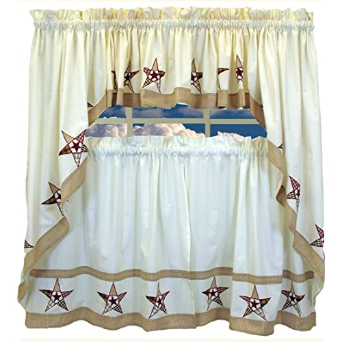 country star kitchen curtains country curtains 6202