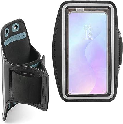 DURAGADGET Brazalete Deportivo Negro De Neopreno Compatible con Smartphone Xiaomi Mi 9T Pro, REALME 5 Pro: Amazon.es: Electrónica