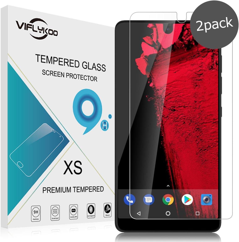 VIFLYKOO Protector de Pantalla para Essential Phone Vidrio ...