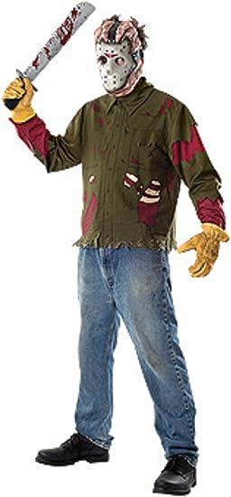 Disfraz de Jason Viernes 13 Adulto Cualquier día: Amazon.es ...