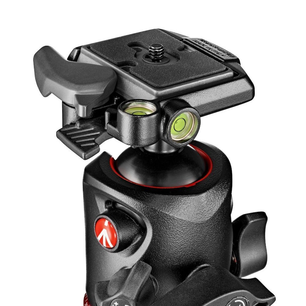 Manfrotto MHXPRO-BHQ2 XPRO Ball Head With 200PL Plate and Two ZAYKIR Quick Release Plates for by Manfrotto