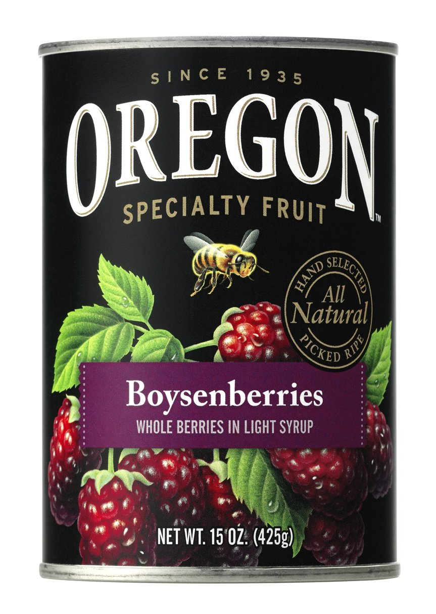 Oregon Fruit Boysenberries In Syrup 15-Ounce Cans (Pack Of 8) 18