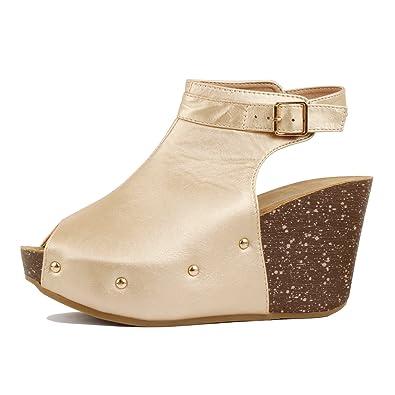80f09669e02 Guilty Heart - Womens Cutout Gladiator Lace Up Stiletto High Heel Open Toe  Sandal Platforms