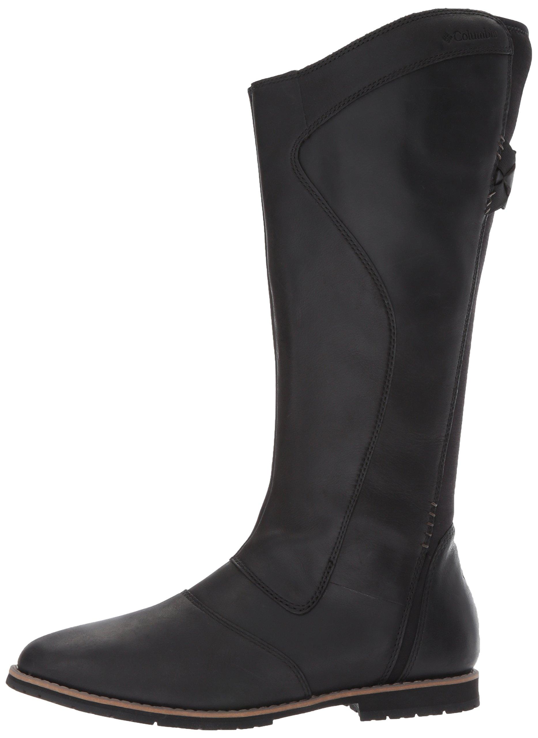 Columbia Women's Twentythird Ave Waterproof Tall Boot Uniform Dress Shoe, Black, Mud, 9 B US by Columbia (Image #5)