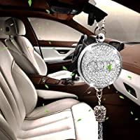 VILLSION Car Air Freshener Fragrance Essential Oils Diffuser Air Refresher Perfume Pendant for Rearview Mirror with Gift Box