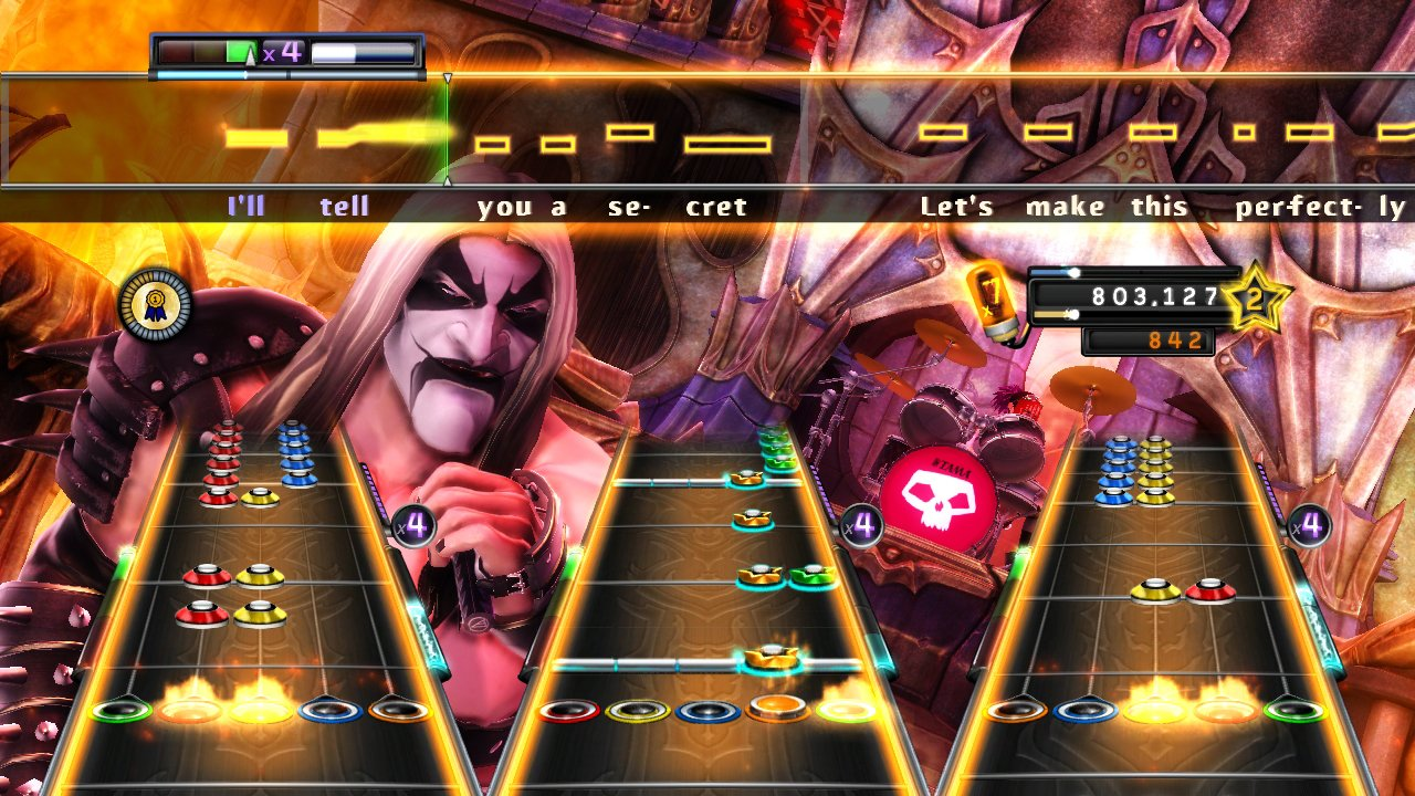 Guitar Hero: Warriors of Rock Stand-Alone Software - Nintendo Wii by Activision (Image #5)