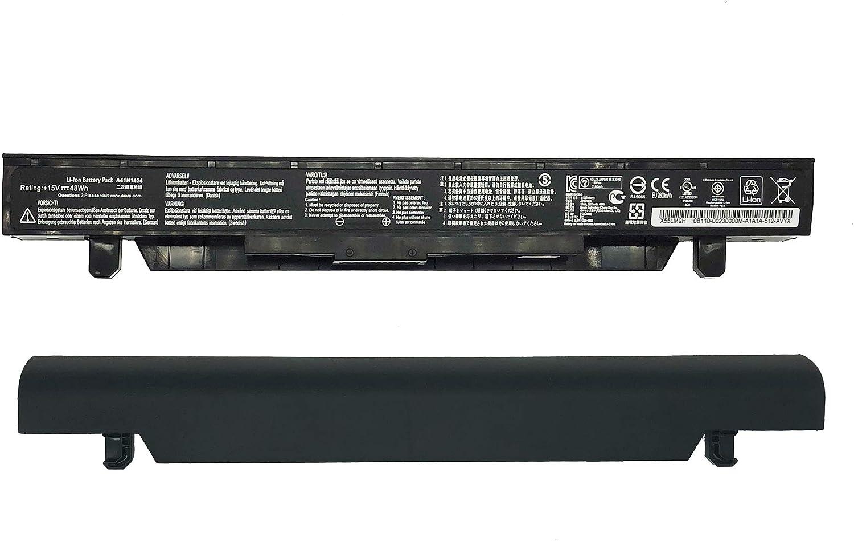 ZJS A41N1424 Port/átil Repuesto Bater/ía para ASUS FX-Plus GL552 GL552J GL552JX GL552V GL552VW ZX ZX50 ZX50JX ZX50 ZX50J GL552VW-DH74 DH71 15V 48Wh