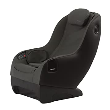 apex icozy leisure massage chair greyblack