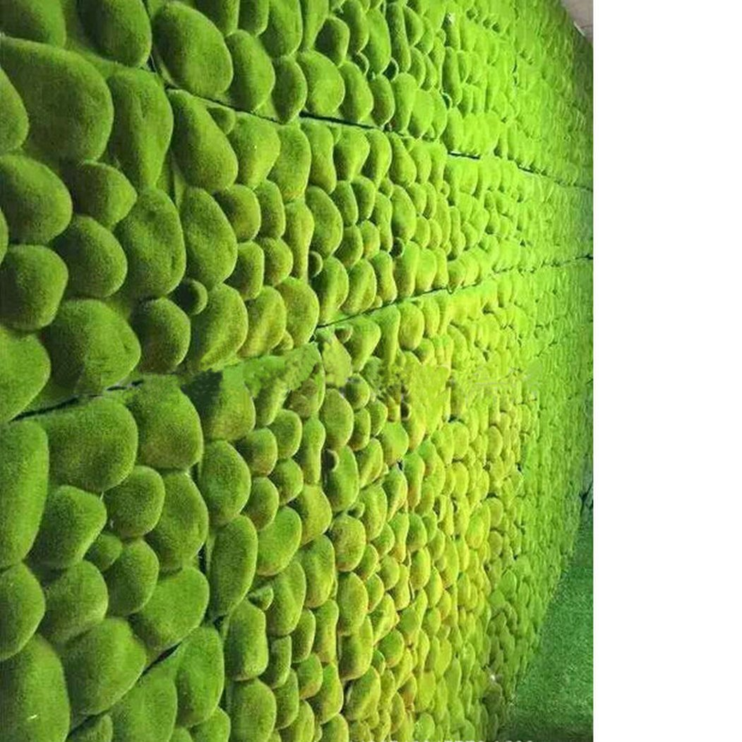 Artificial Moss Panel Faux Moss Mat Fake turf Synthetic Lawn Home Garden Craft Green Decoration (12, Light Green 3030cm) by MOSS PANELS (Image #3)