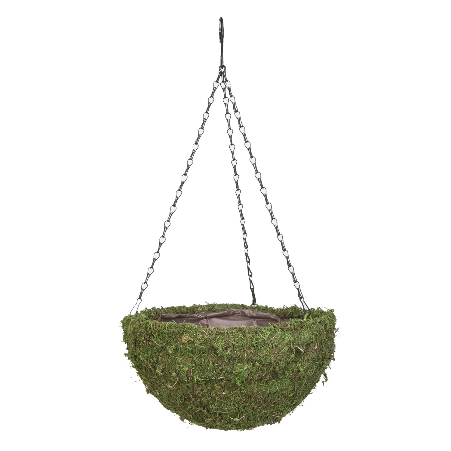 Panacea Products 14 Green Moss Round Basket