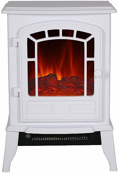 El Fuego Como – Chimenea eléctrica con mando a distancia, ...