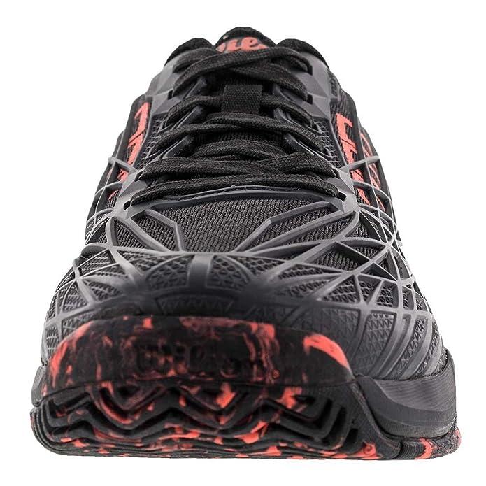 Wilson Kaos Ebony/Black/Red Men's Tennis Shoes: Amazon.ca: Shoes & Handbags