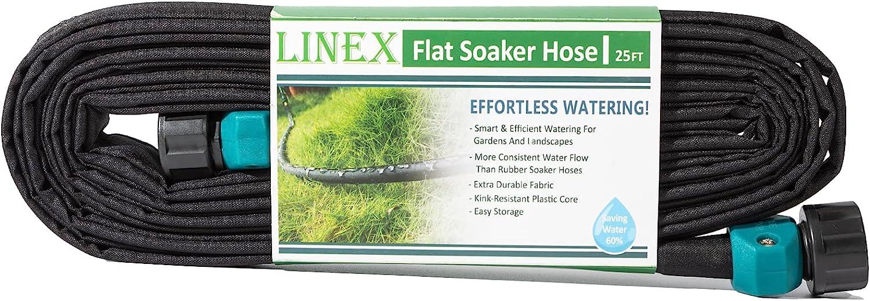 LINEX Garden Flat Soaker Hose 1/2