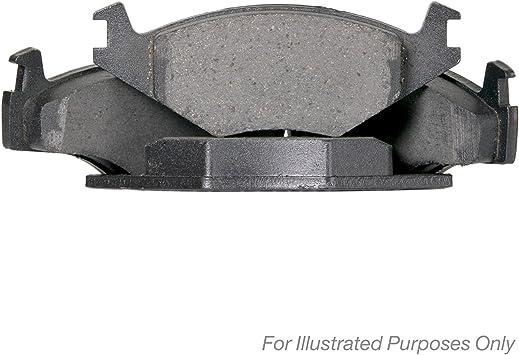 Scheibenbremse Optimal 10128 Bremsbelagsatz 4-teilig