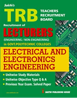 Buy TRB Lecturers ( Electronics And Communication