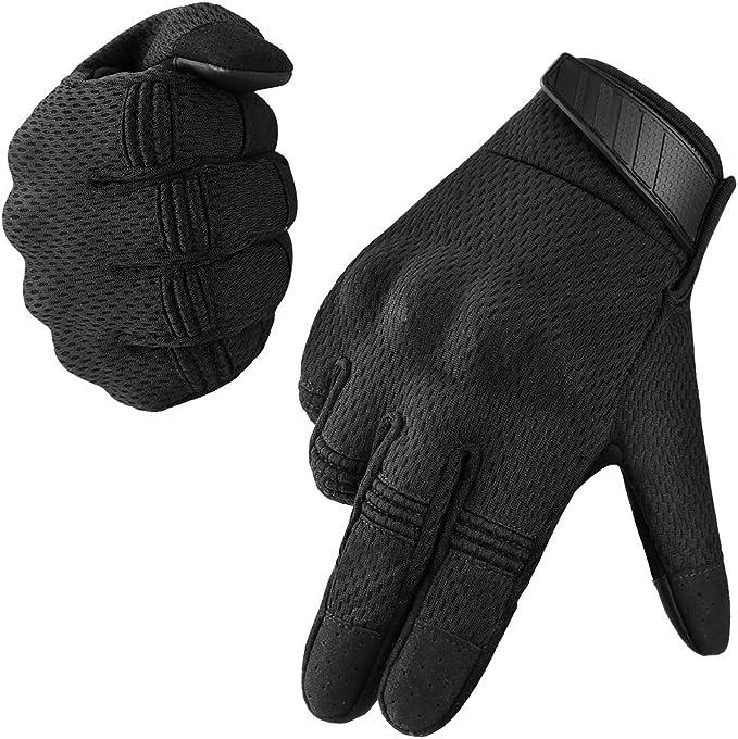 Vbiger Motorradhandschuhe Taktische Handschuhe Vollfinger Handschuhe Für Motorrad Fahrrad Airsoft Militär Paintball Bekleidung