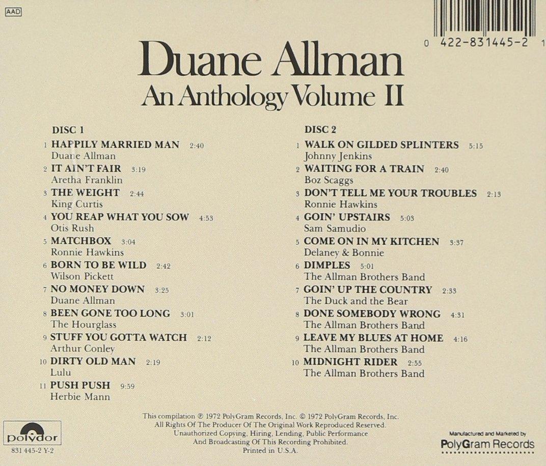 Anthology, Volume II [2 CD]
