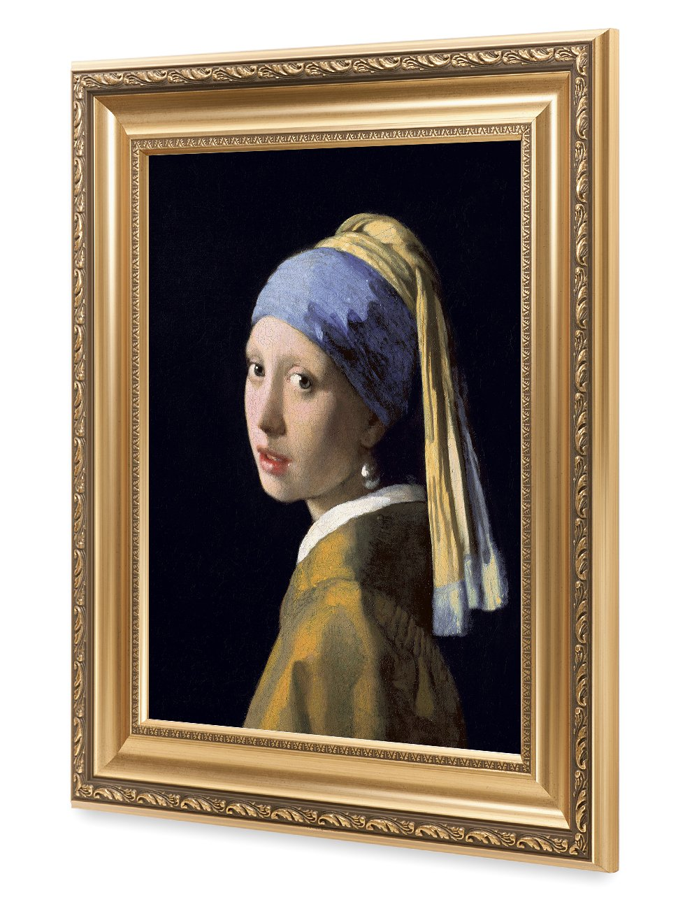 fdce22410a9 DECORARTS - Girl with A Pearl Earring by Johannes Vermeer. The World  Classic Art Reproductions. Giclee Print with Matching Museum Frame, 16x20,  ...