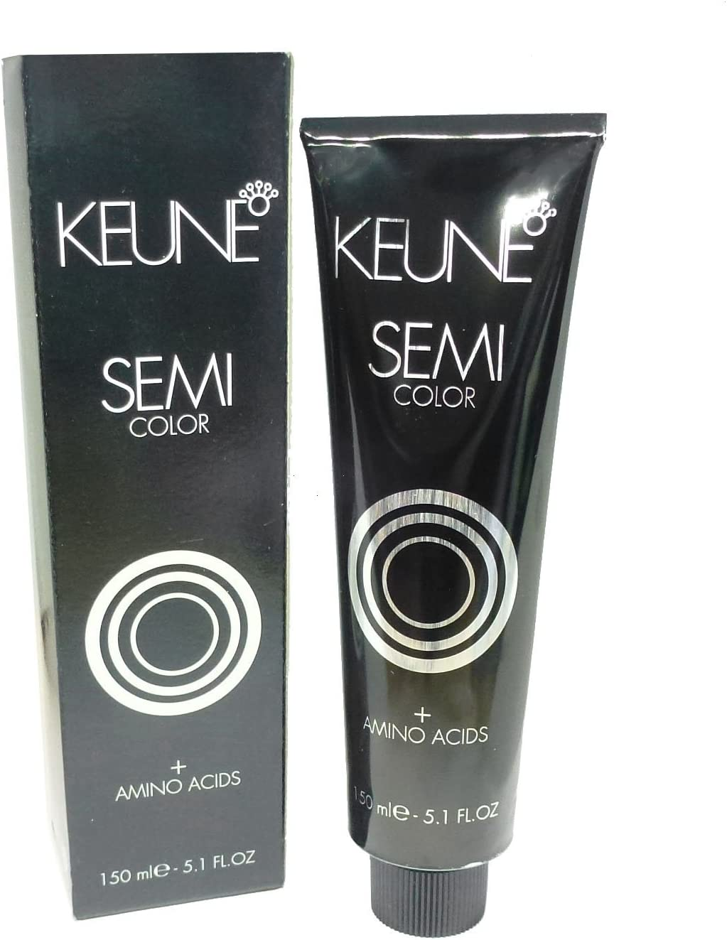KEUNE Semi color + aminoácidos 2 marrón negro pelo tinte ...