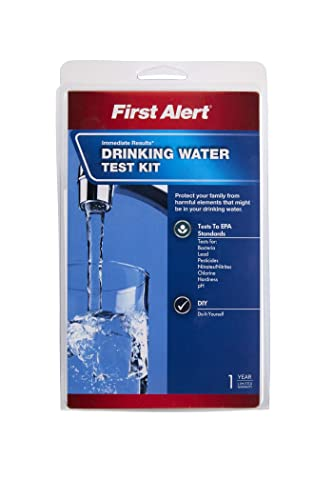 First Alert WT1 Drinking Water Test Kit