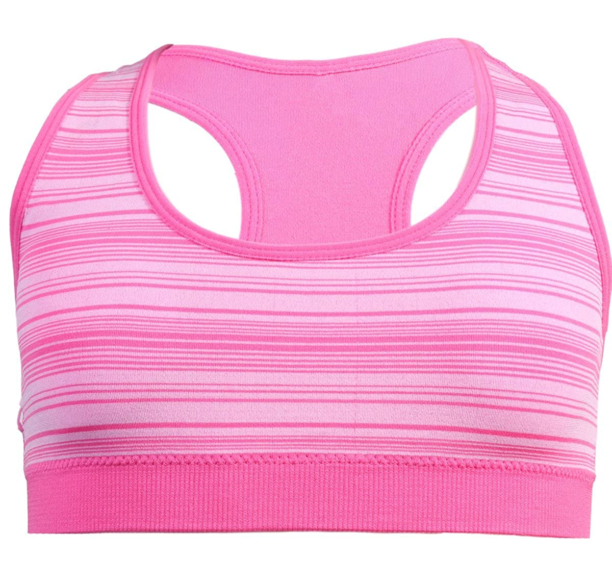 4 Pack dELiA*s Girls Seamless Sports Performance Bra with Removable Pads