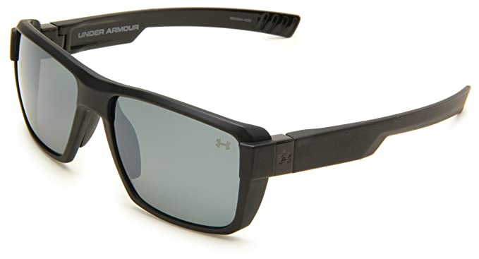522a57452e Under Armour Eyewear Recon Satin Black (Exterior) Shiny Black (Interior)  Frame