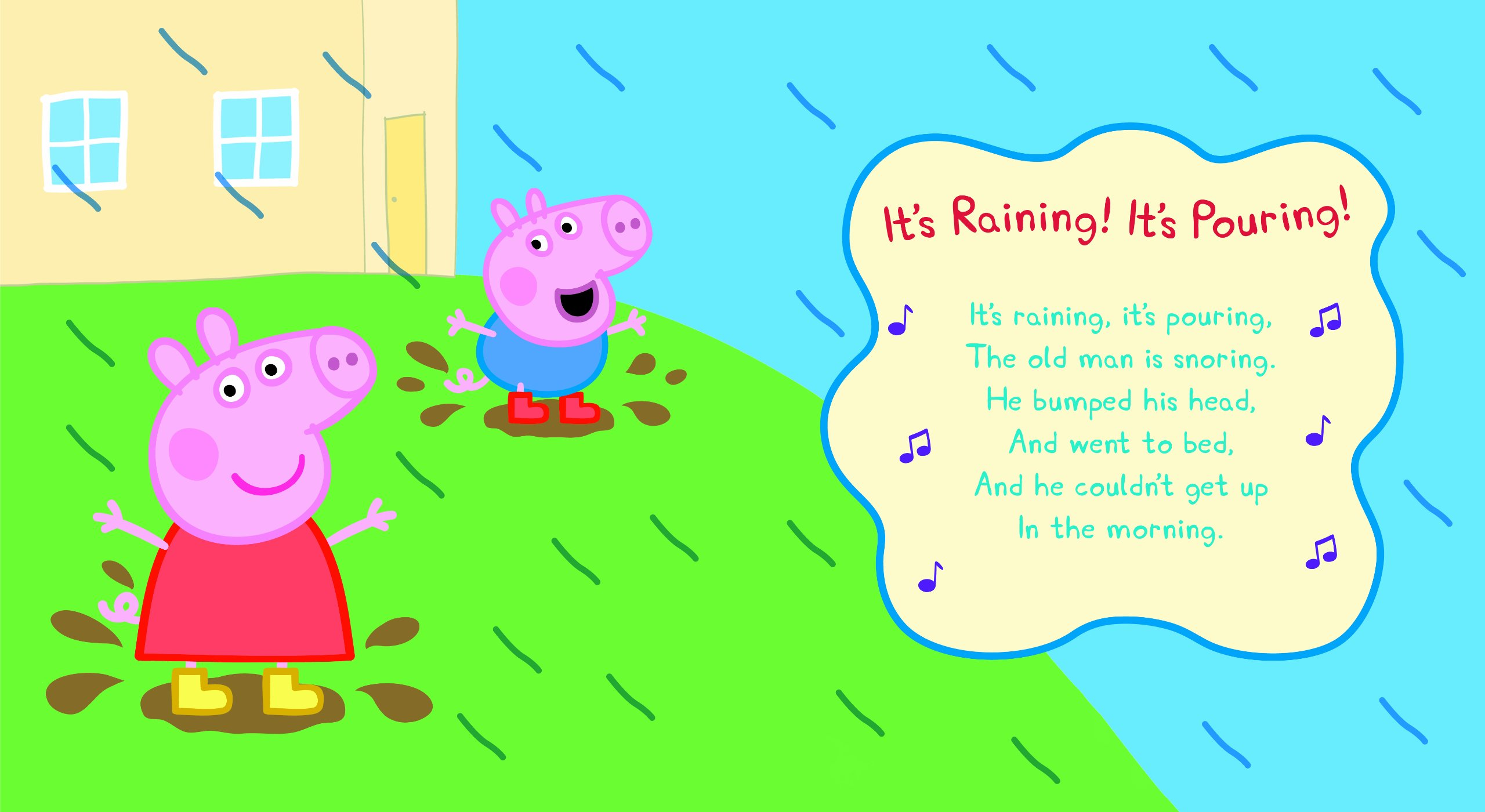 Peppa Pig Nursery Rhymes And Songs Picture Book And Cd Amazon Co