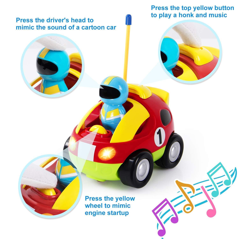 amazon com liberty imports cartoon r c race car radio control toy