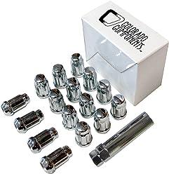 West Coast Accessories W1096B Wheel Lug Nut & Install Kit 100 Pack Steering Wheels & Accessories
