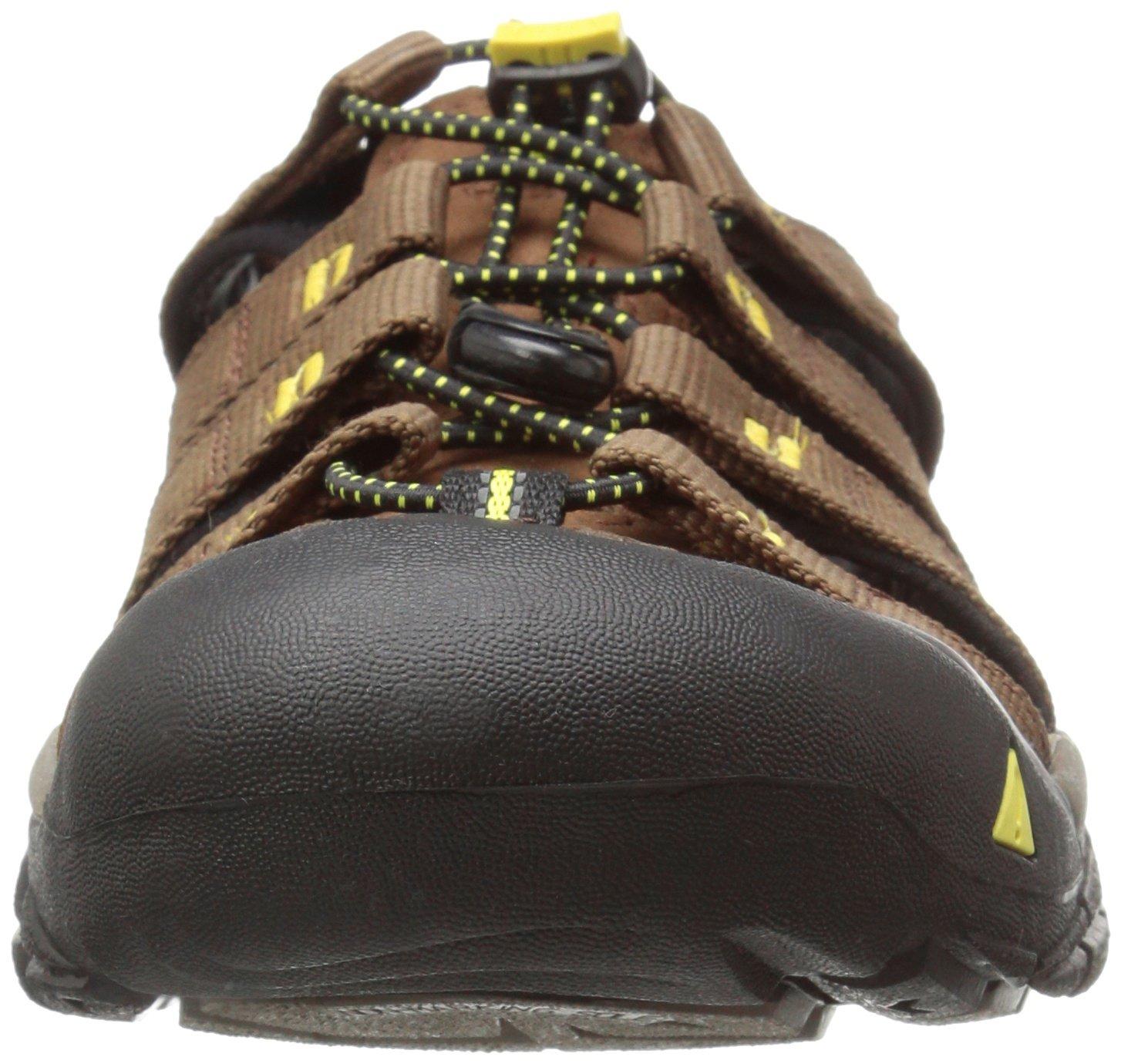 KEEN Men's Newport H2 Sandal B01H8LG2C8 7.5 D(M) US|Dark Earth/Acacia