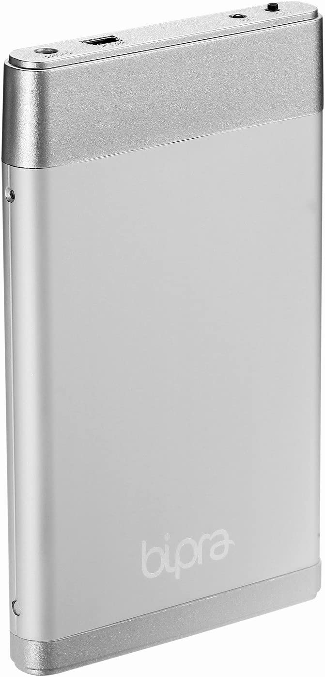 BIPRA 160Gb 160 Gb External USB 2.0 Hard Drive with One Touch Back Up Software - Silver - Fat32