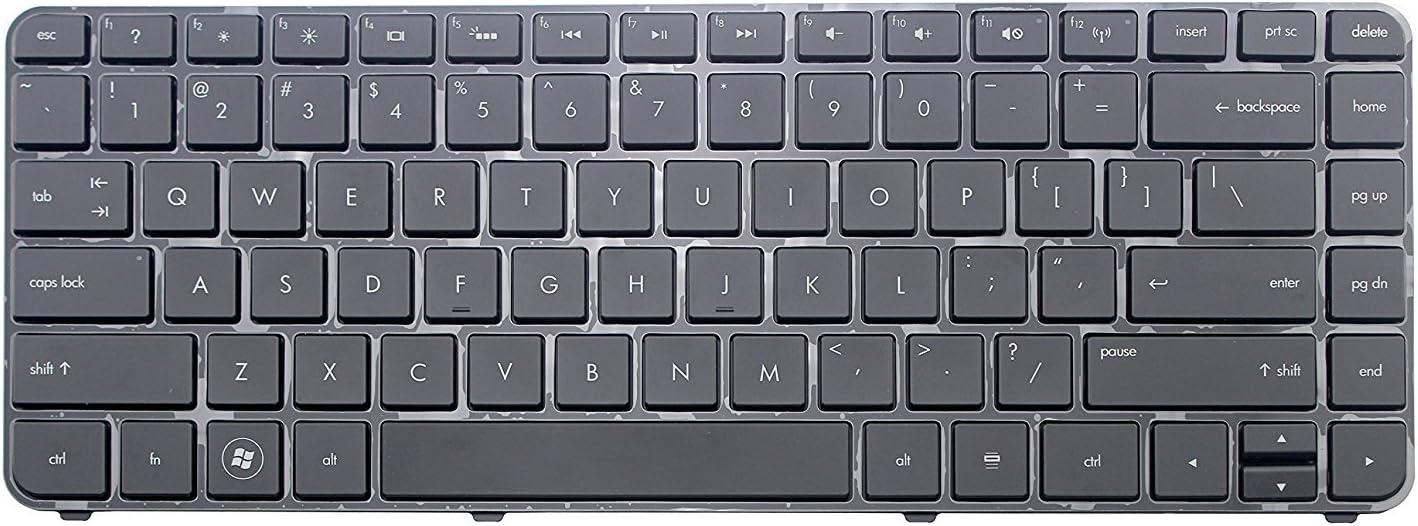 New for HP Pavilion dm4-3052nr dm4-3055dx US Backlit Keyboard with Frame