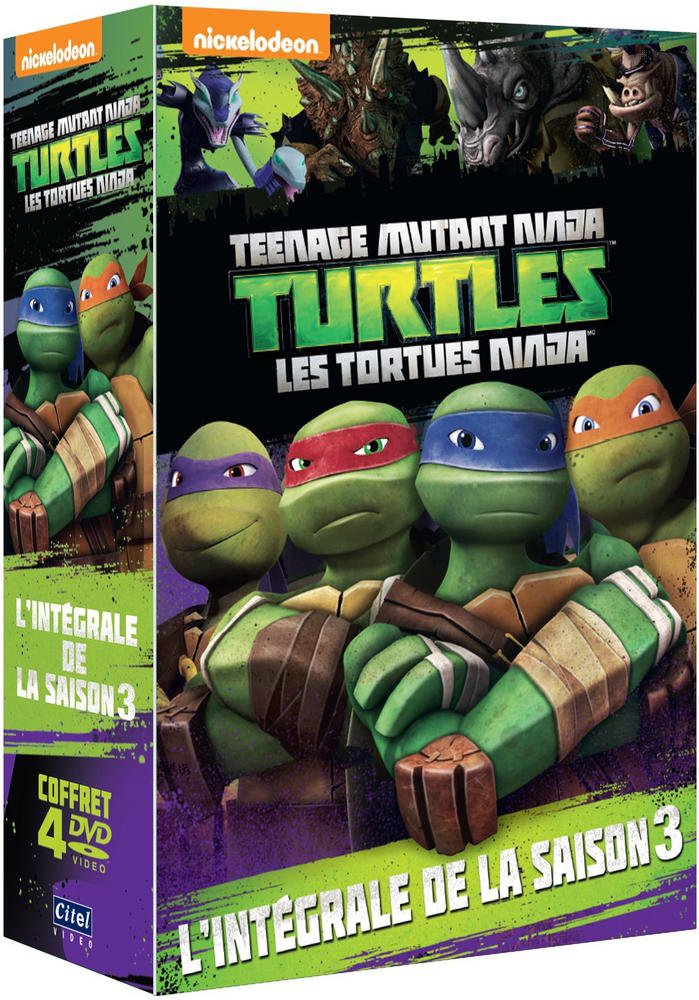 Les Tortues Ninja - Lintégrale de la saison 3 Francia DVD ...