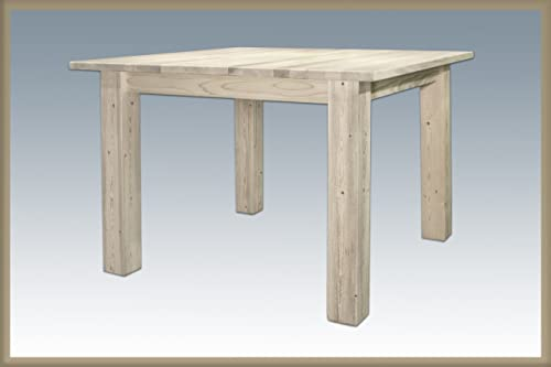 Montana Woodworks Hometead Collection Square 4 Post Dining Table