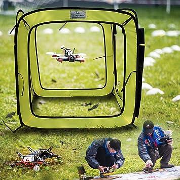 Gaddrt - Drone de 31 x 31 x 31 pulgadas con obstáculos a través de ...