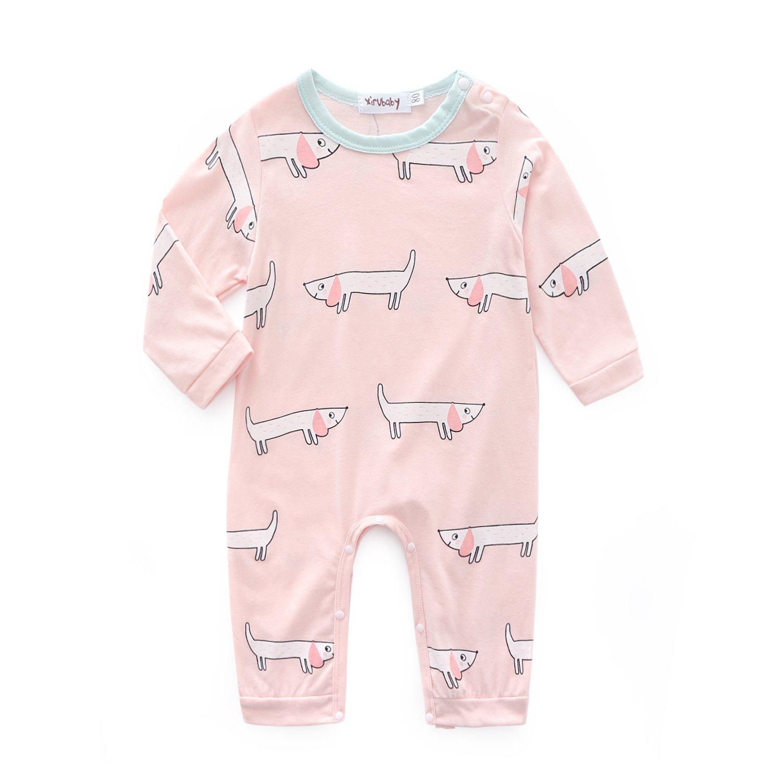 Kimocat Unisex-Baby Clothes Cotton Sleep-and-Play