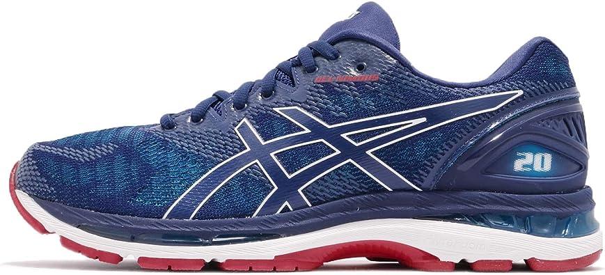 Asics Gel-Nimbus 20 Zapatillas para Correr (2E Width) - 42.5: Amazon.es: Zapatos y complementos