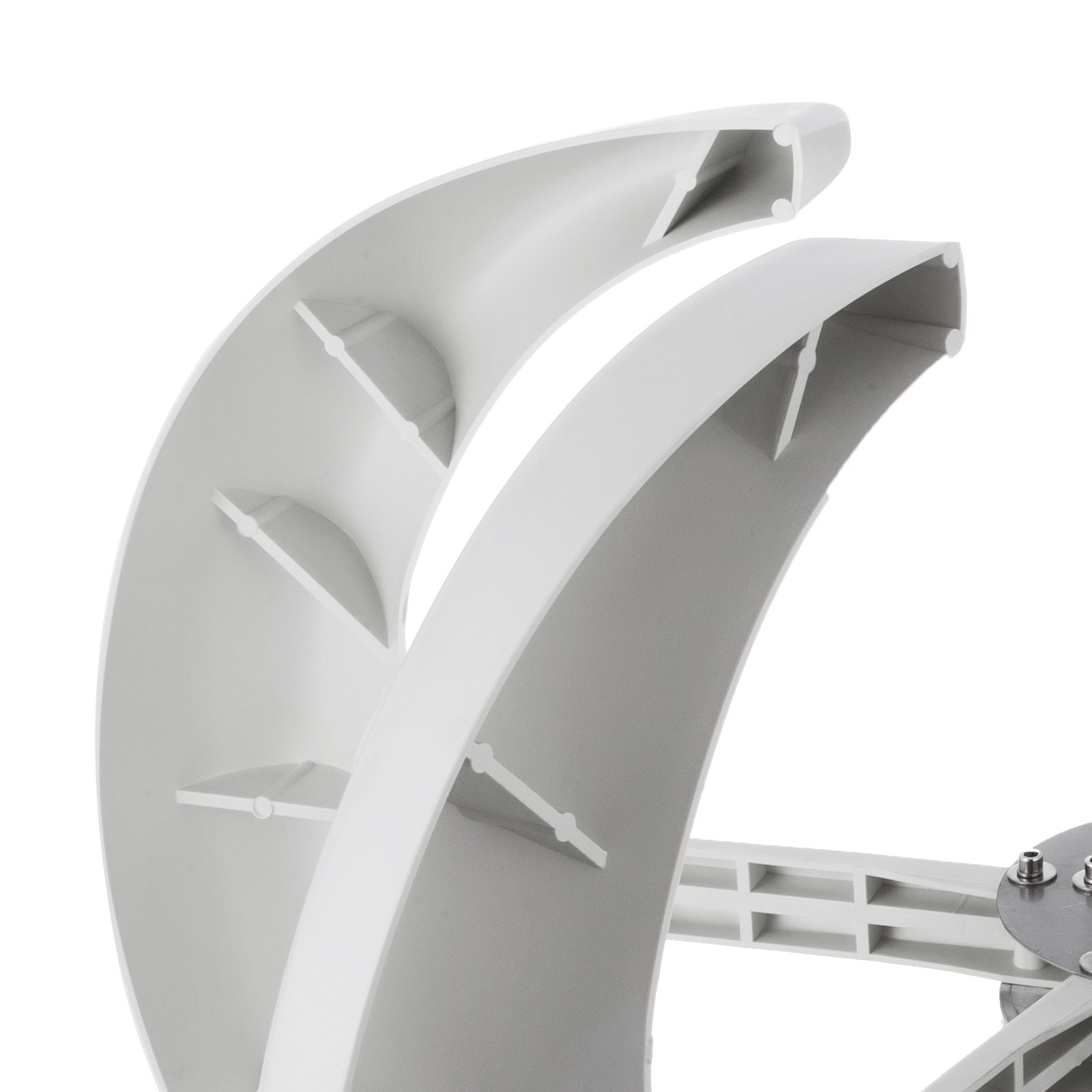 Happybuy Wind Turbine 400W DC 12V Wind Turbine Generator Kit 5 Blades Vertical Wind Power Turbine Generato White Lantern Style with Charge Controller for Power Supplementation by Happybuy (Image #5)