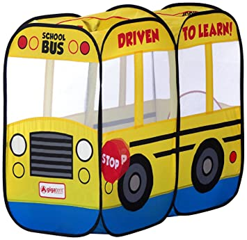 Giga Tent My First School Bus Play Tent  sc 1 st  Amazon.com & Amazon.com: Giga Tent My First School Bus Play Tent: Toys u0026 Games