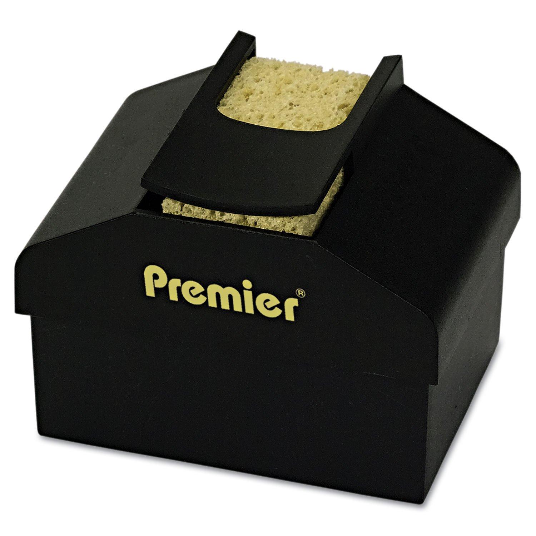 Premier LM3 Aquapad Envelope Moisture Dispenser, 3 3/4'' x 3 3/4'' x 2 1/4'', Black