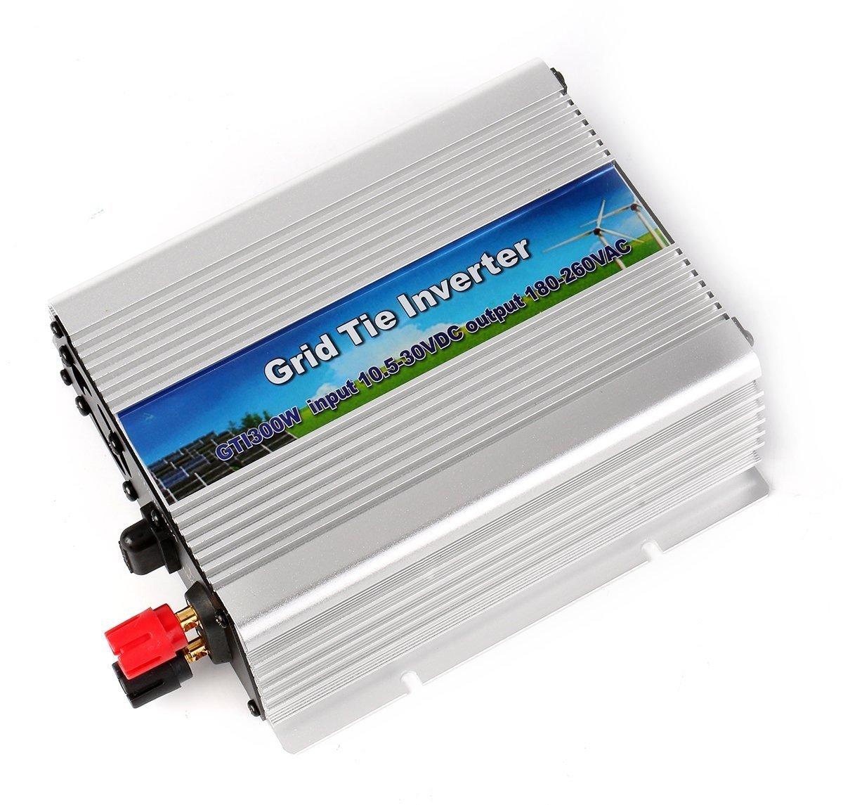 Hsdmwjd auto inverter/inverter/300 W Grid Connected inverter/MPPT Home pannello solare/sistema generatore sistema, ingresso DC 10.5 V-30 V, uscita AC 180 V-260 V catalizzatore ingresso DC 10.5V-30V